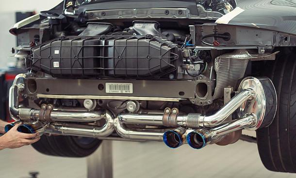 Porsche 991 Carrera GTS Tuning Von Armytrix Autozeitungde