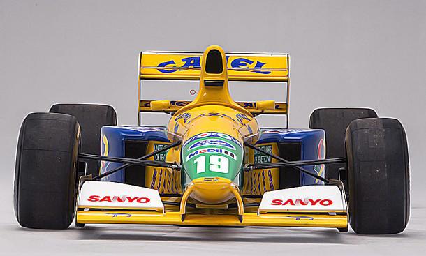 Benetton von Schumi wird verkauft
