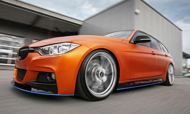 BMW 3er Touring in Satin Canyon Copper