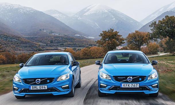 Volvo V60 und S60 Polestar (2016)