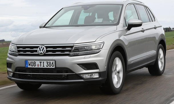 vw tiguan 2 0 tdi test 2 generation bild 3. Black Bedroom Furniture Sets. Home Design Ideas