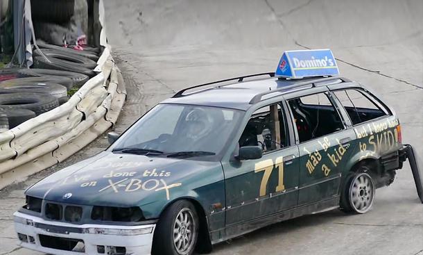 Irrer Drift im BMW 3er Touring