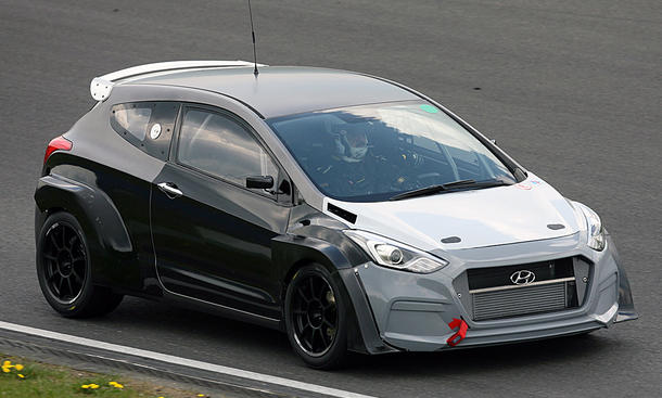 Hyundai mit i30 2.0 Turbo am Start