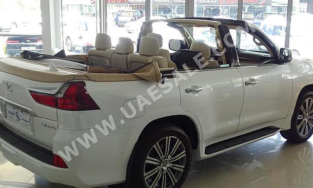Lexus LX 570: Land Cruiser ohne Dach
