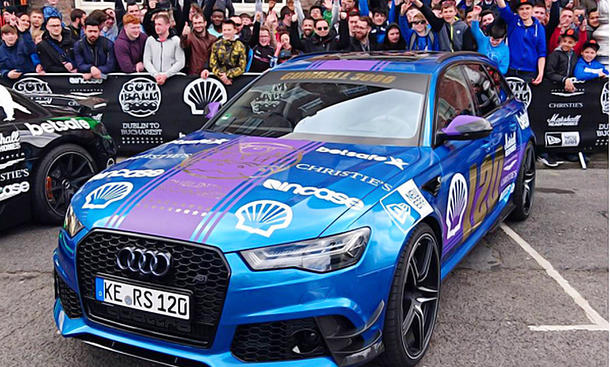 "Gumball 3000: Shmee150 startet im ABT RS 6 ""1 of 12"""