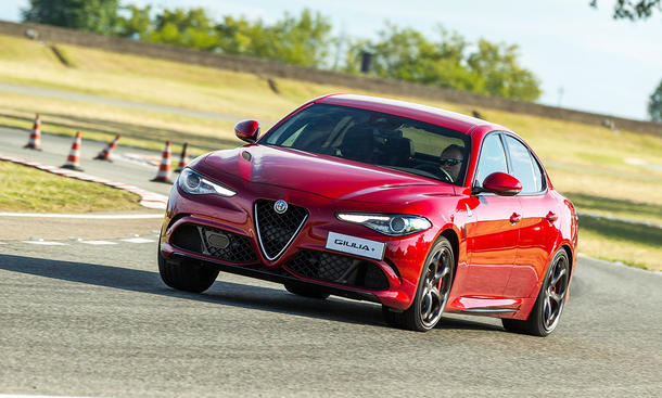 Alfa Romeo Giulia QV (2016): Fahrvorstellung