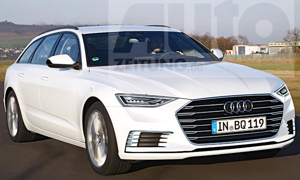 Audi A6 Avant (2018) - Der neue Audi A6 Avant (2018) soll nicht nur ...