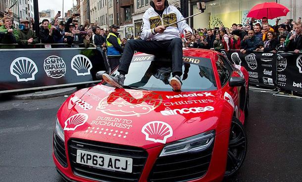 Gumball 3000 (2016): David Hasseloff im Audi R8