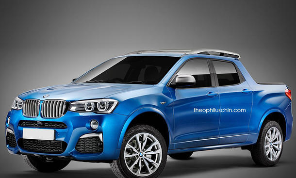BMW X4 Pick-up: Illustration