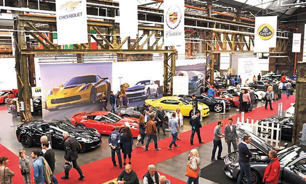 Cabrio & Sportscars Salon Düsseldorf 2016