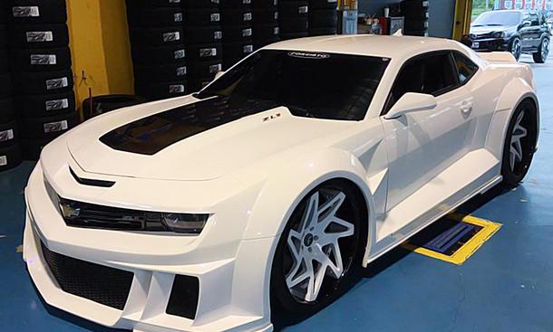 Chevy Camaro Zl1 Tuning Von Forgiato Wheels Autozeitung De