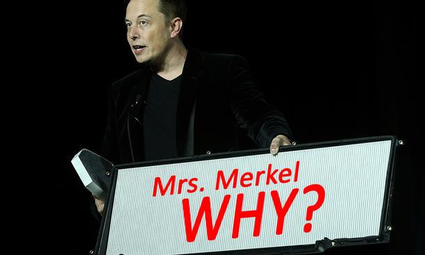 Tesla-Chef wittert Verschwörung