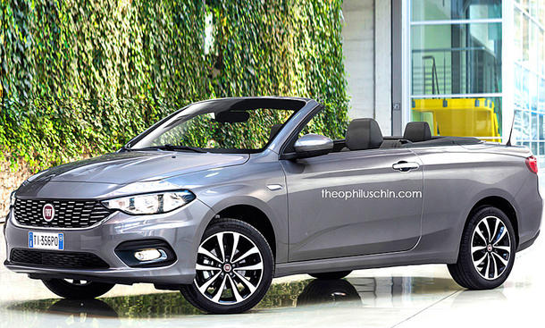 fiat tipo cabrio illustration. Black Bedroom Furniture Sets. Home Design Ideas