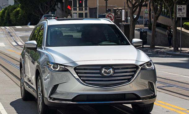 Neuer Mazda CX-9 startet in den USA