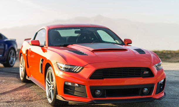 Ford Mustang Tuning Von Roush Performance Autozeitung De