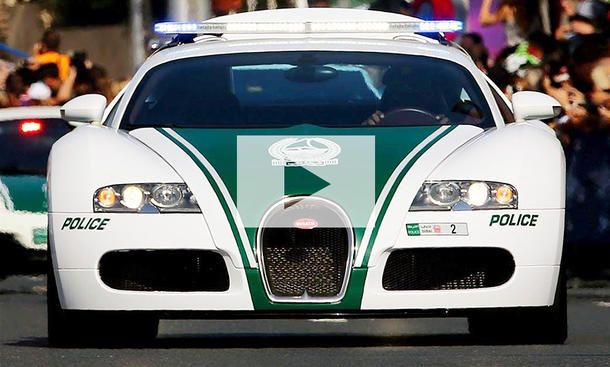 Die teuersten Polizeiautos: Video