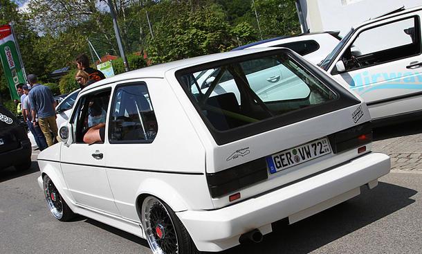 VW Golf 1 auf dem GTI-Treffen 2016