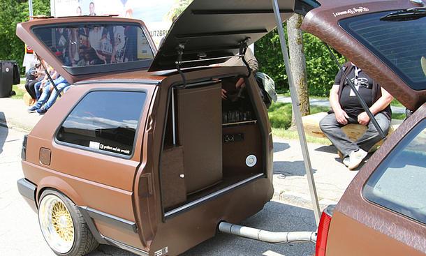 VW Golf 3 Variant auf dem GTI-Treffen 2016