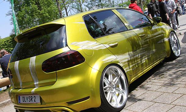 VW Golf 6 auf dem GTI-Treffen 2016