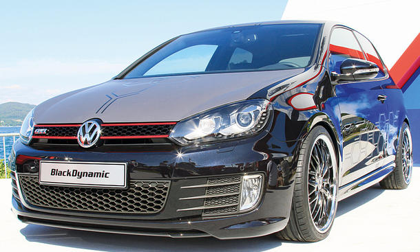 VW Golf GTI Black Dynamic (2012)