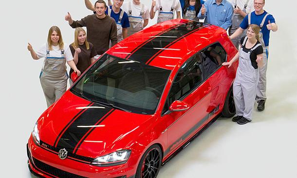 VW Golf GTI Wolfsburg Edition (2014)