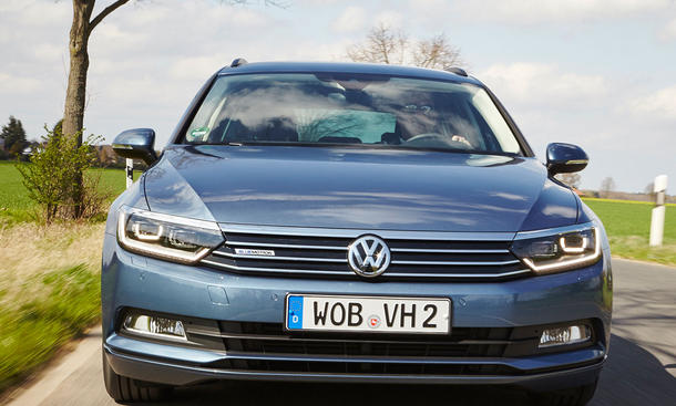 VW Passat Variant 1.6 TDI BlueMotion (2016)