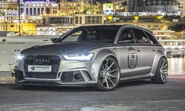 Audi A6: Tuning von Prior Desgin