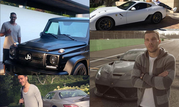 Fußball-EM 2016: Die Autos der Spieler