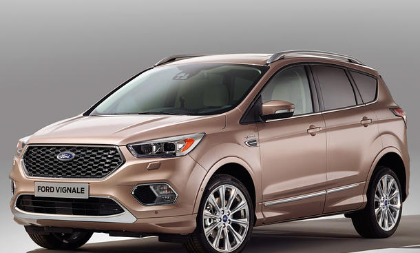 ford kuga vignale 2017 erste infos. Black Bedroom Furniture Sets. Home Design Ideas
