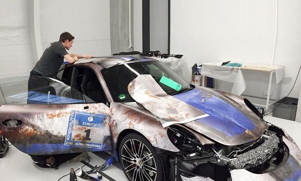 Porsche 911 im Rost-Look