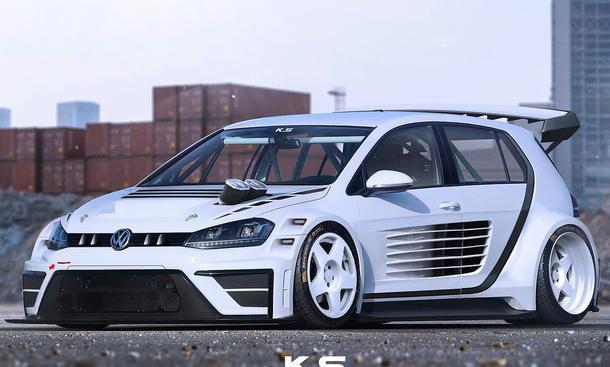 VW Golf GTI TCR: Virtuelles Tuning