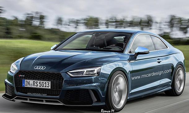 Audi RS 5 (2017): Illustration