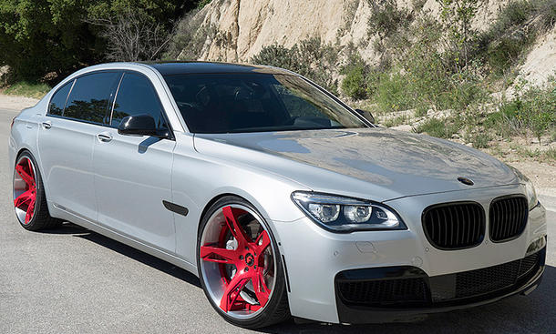 BMW 750Li mit Forgiato Wheels