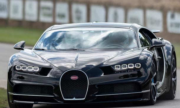 Bugatti Chiron: Weltrekordversuch