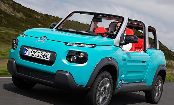 Citroën E-Méhari kostet 27.000 Euro