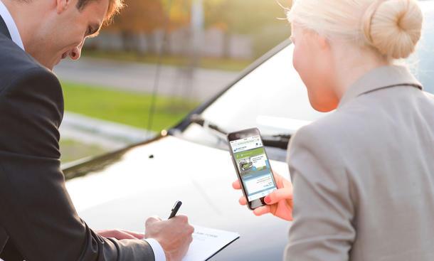 Gebrauchtwagen-Bezahlung mit Easy Car Pay