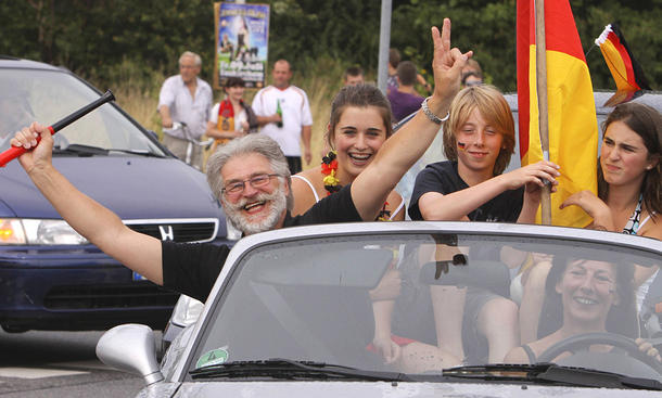 Fußball-EM 2016: Ratgeber zum Autokorso