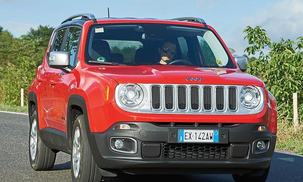 Jeep Renegade: Ab 19.900 Euro