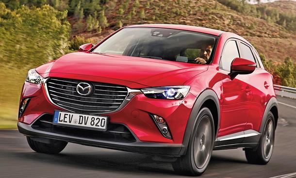 Mazda CX-3: Ab 17.990 Euro