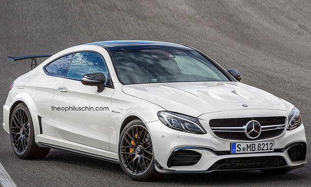 Mercedes-AMG C 63 Coupé Black Series