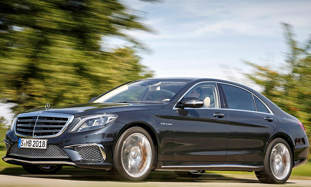 Top-12 der stärksten Luxuslimousinen: Mercedes-AMG S 65