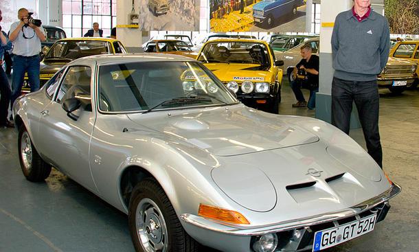 Walter Röhrl kauft Opel GT