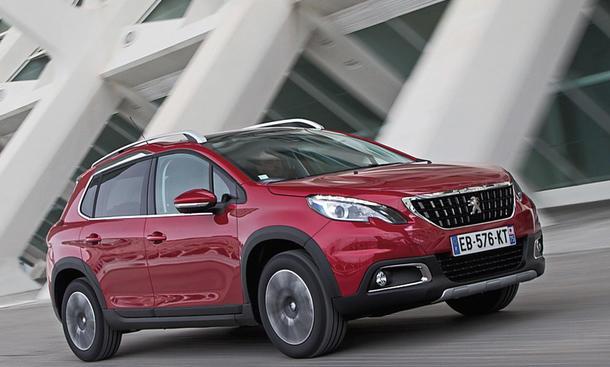 Peugeot 2008: Ab 15.500 Euro