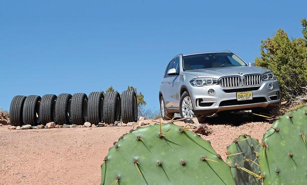Vergleich: Acht SUV-Reifen im Test