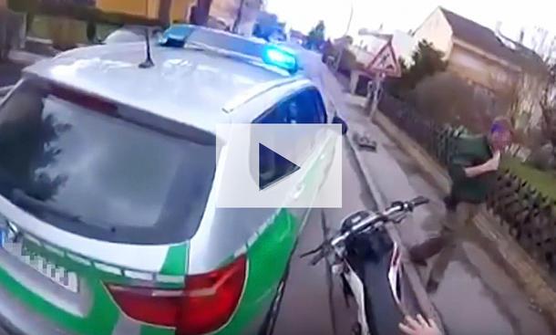 Verfolgungsjagd mit Eistüte: Video