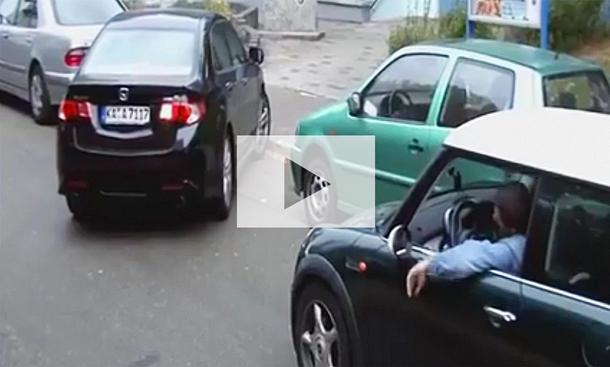 Einpark-Fail: Video