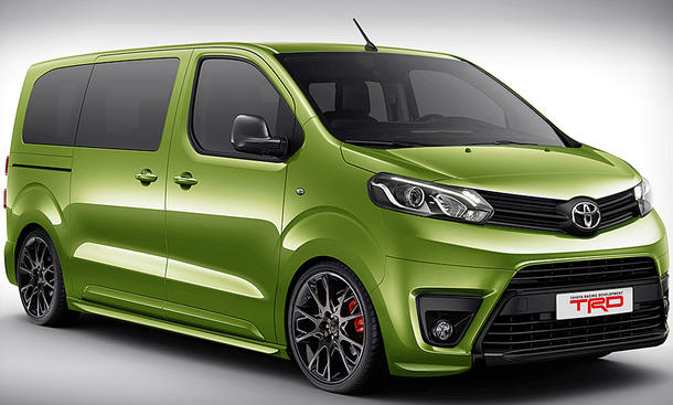 Toyota Proace 2016 | 2017 - 2018 Best Cars Reviews
