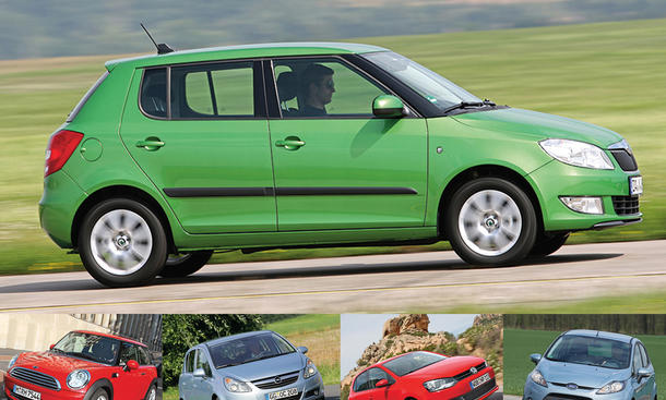 Corsa/Fabia/Fiesta/One/Polo: Gebrauchtwagen