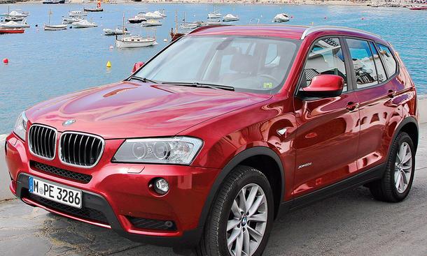 Bilder BMW X3 100.000km Dauertest