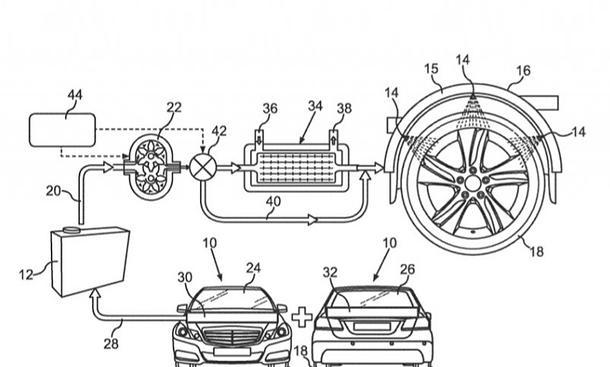Daimler patentiert Reifen-Kühlsystem
